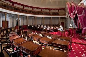 Us Senate Floor Plan old senate chamber architect of the capitol united