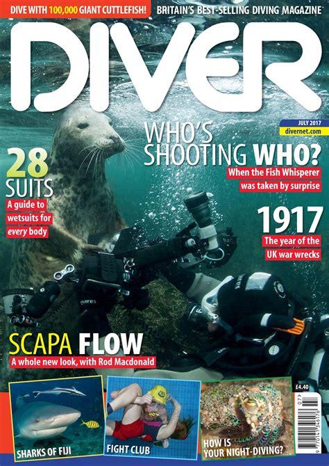 dive magazine diver july 2017 pocketmags