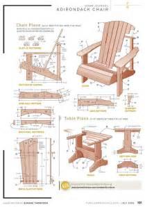 adirondack chair plan templates pdf plans how to build