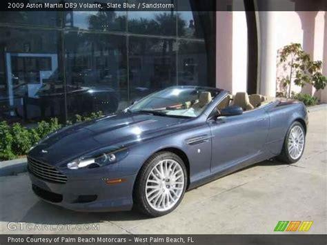 Slate Blue   2009 Aston Martin DB9 Volante   Sandstorm Interior   GTCarLot.com   Vehicle Archive
