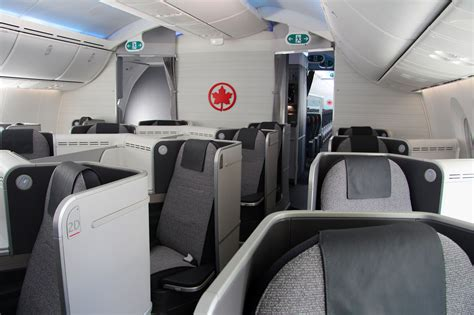Dreamliner Premium Cabin by Air Canada Debuts New International Cabin Interiors With