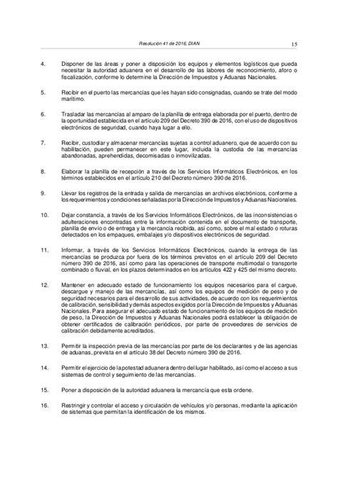 resolucion dian 2016 personal resolucion 41 2016 dian