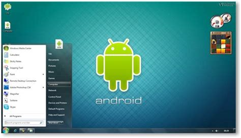 android windows android theme for windows 7 and windows 8