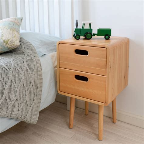how high should a bedside table be children s solid wood bedside table by snug