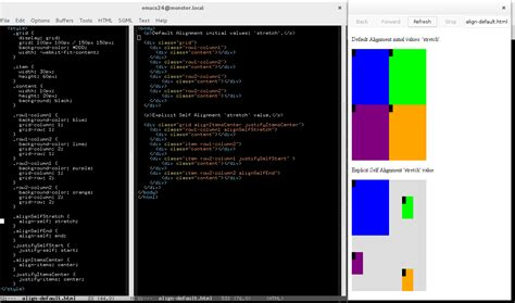 grid layout exle in html box alignment and grid layout ii make everything intensely