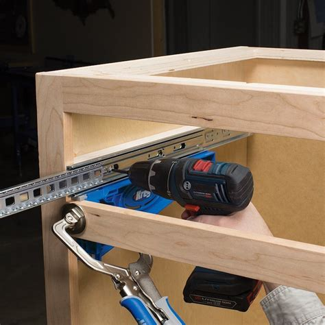 Where Can I Buy Drawer Slides by Kreg Drawer Slide Jig Install Drawers Perfectly Every Time