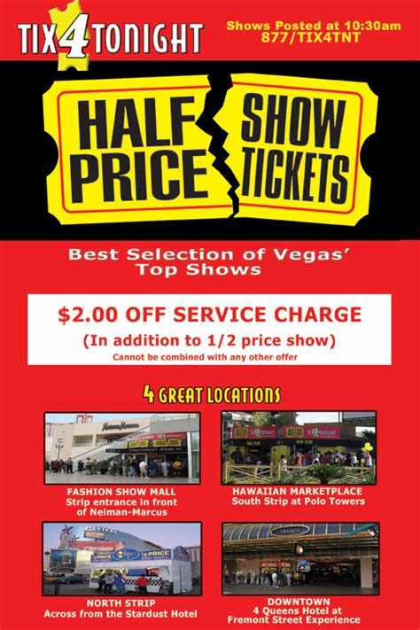 Las Vegas Printable Coupons