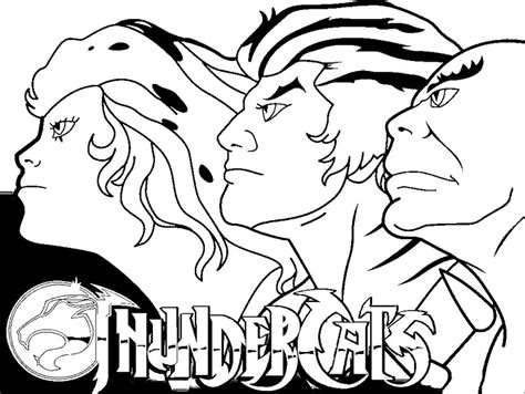Thundercats Coloring Pages To Print coloring page thundercats thundercats 1