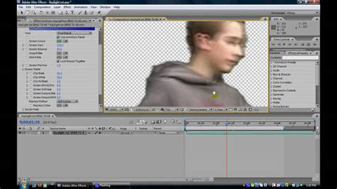 tutorial after effect download adobe after effects cs3 basic keylighting tutorial