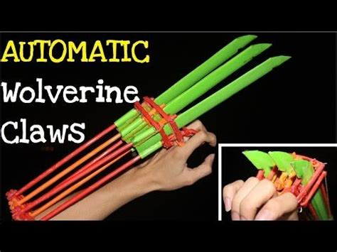 How To Make Origami Wolverine Claws - 25 best ideas about wolverine claws on