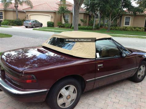 1990 buick reatta convertible 1990 buick reatta base convertible 2 door 3 8l