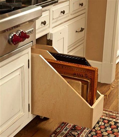 cookie sheet storage cabinet 107 best new home kitchens images on pinterest