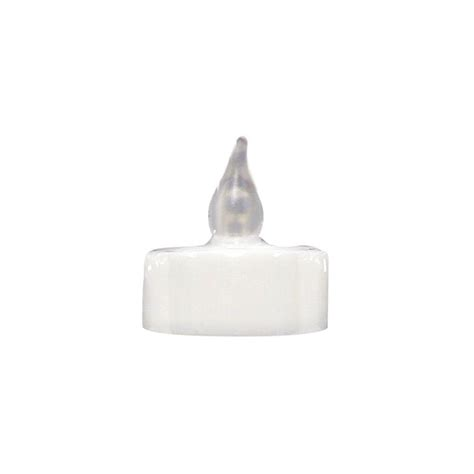 christmas led candle lowes shop ge pre lit candle flickering white led lights at lowes