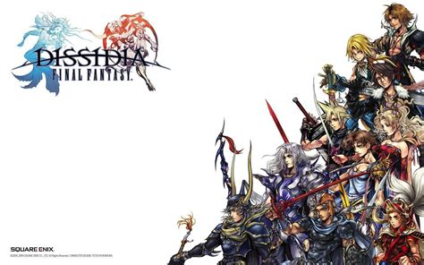 wallpaper animasi final fantasy final fantasy dissidia wallpapers wallpaper cave