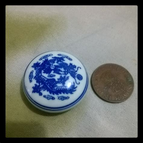 Harga Gincu antik lawas keramik cepuk gincu