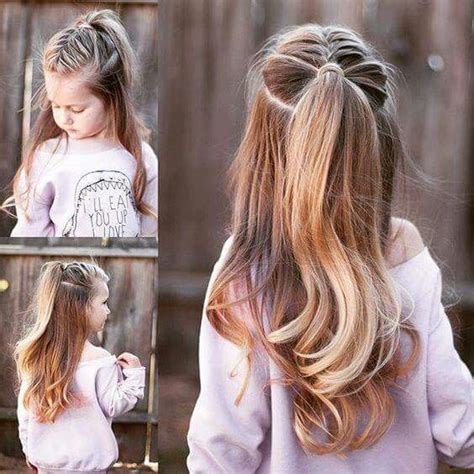 Hair Style For A Nine Ye   i m doing your kids hair updos hair colors pinterest