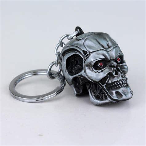 Logo Charm Keychain by Weight 65g Terminator Skull Logo Charm Keychain