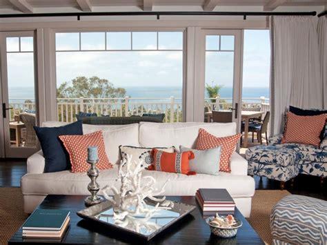 Nautical Decor Living Room by Coastal Living Room Ideas Hgtv