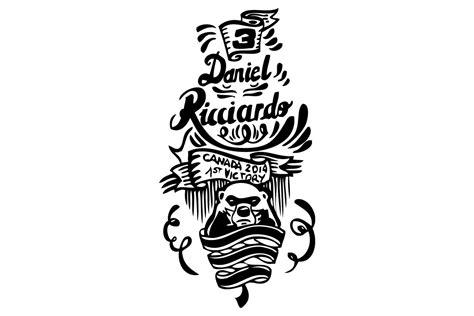 tattoo eigenes logo mach dir dein eigenes daniel ricciardo tattoo