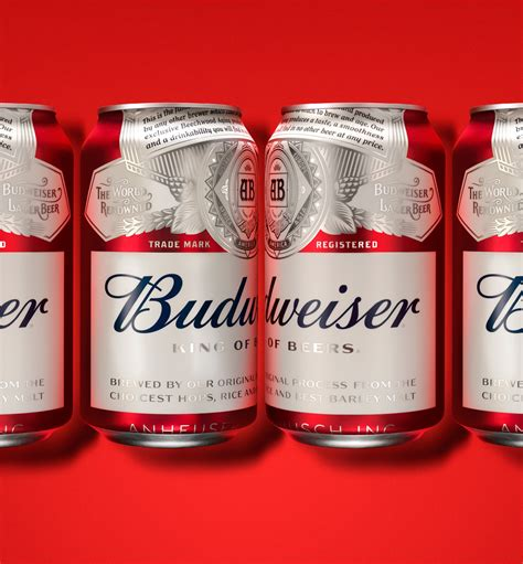 brand new new logo and packaging for budweiser by jones