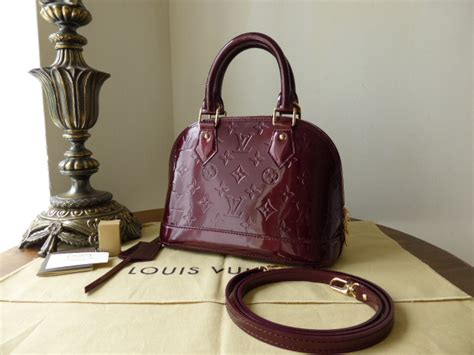 Lv Alma Vernish Mini louis vuitton alma bb in fauviste vernis sold