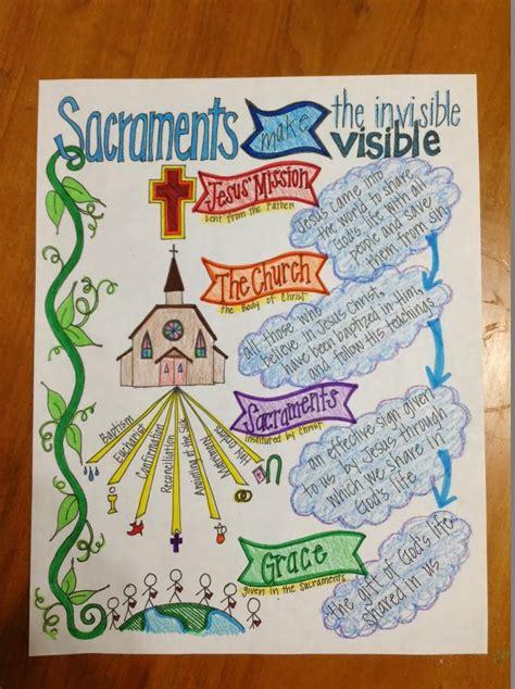 catholic craft projects 7 sacraments crafts