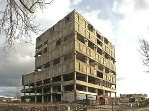 Bookcase Spanish Brutalist Architecture Reinier De Jong Design Studio