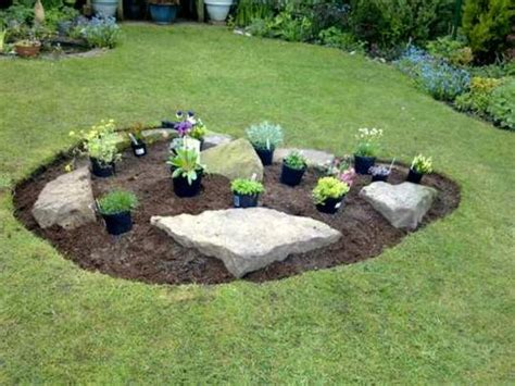 Some Considerations For Your Small Rock Garden Ideas 4 Homes Small Garden Rockery Ideas
