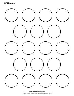 1 inch circle template tim de vall comics printables for