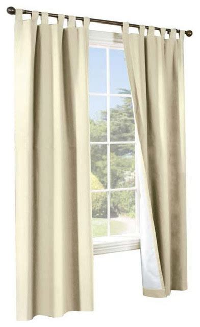 weather curtains thermalogic weather cotton fabric 80 x 54 tab panels pair