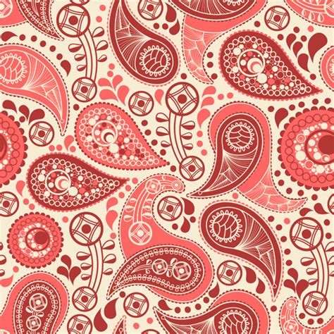 paisley pattern vector free download ornate paisley pattern vector free vector in encapsulated