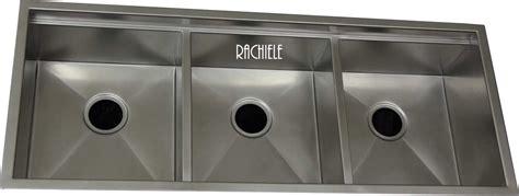 rachiele stainless steel sinks custom stainless steel sinks mount and workstation