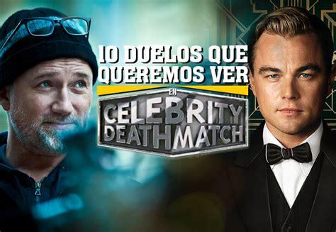 celebrity deathmatch netflix 10 duelos que queremos ver en celebrity deathmatch cine