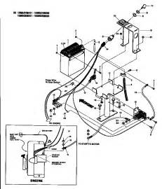 electric start assembly diagram parts list for model 15009 troybilt parts tiller parts