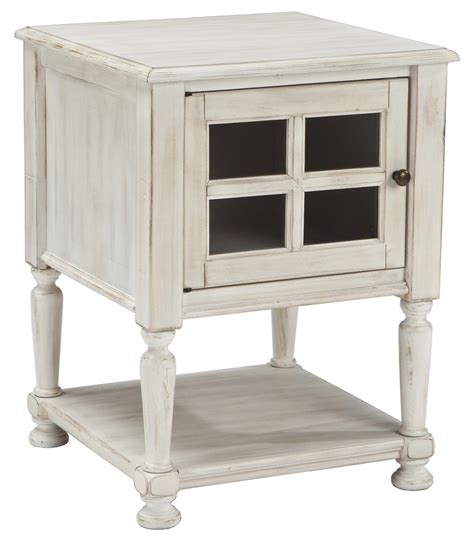 ashley accent tables signature design by ashley mirimyn chair side end table