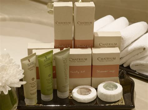 what are amenities chatrium hotels and residences launched eco friendly