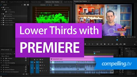 adobe premiere pro lower thirds creating simple lower thirds in adobe premiere youtube