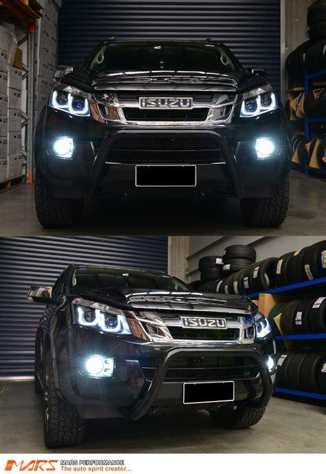 black 3d led stripe projector lights for isuzu d