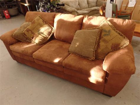 how to clean a fake suede couch faux suede sofa kan 297 furniture electronics sporting