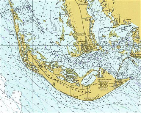florida sanibel island map sanibel island 1977