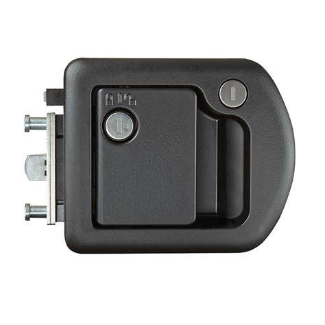 Deadbolt Locks On Exterior Doors Entrance Door Lock With Deadbolt Rv Designer T507 Entry Door Hardware Cing World