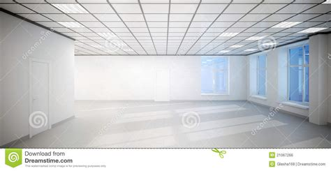 big white room big empty white room office with three windows royalty free stock image image 21067266