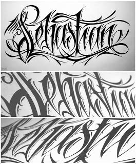 tattoo fonts hindi writing style lettering sketch sketch
