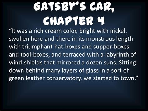 theme quotes in the great gatsby chapter 2 the great gatsby chapter 5