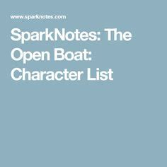 the open boat and other stories sparknotes the open boat analysis igcse 2019 pinterest boating