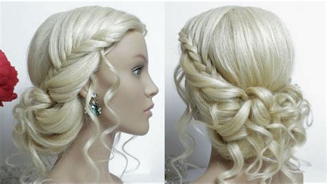 bridal hairstyles tutorial you tube bridal hairstyle for long hair tutorial prom updo youtube