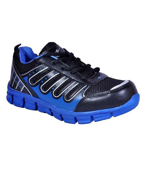 density black and royal blue sports shoes price in india