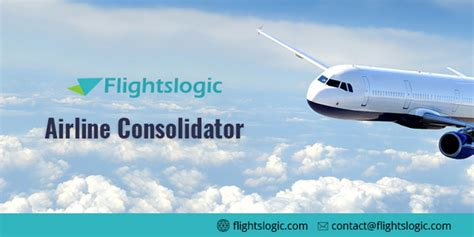 airline consolidators  startup travel
