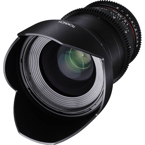 with lenses rokinon 35mm t1 5 cine ds lens for canon ef mount ds35m c b h