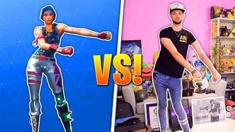 fortnite dances real life challenge youtube